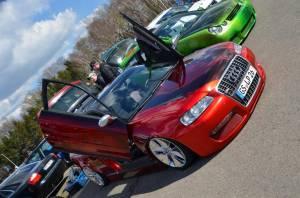 Audi Arride in wunderschönen Lack