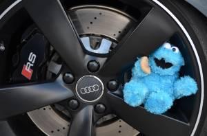 Audi Rennsport Bremse mit Krümmelmonster