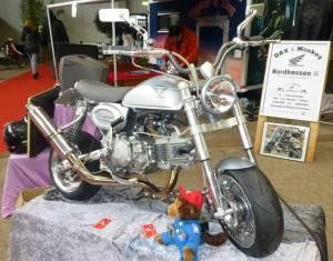 Honda Monkey Silbergrau