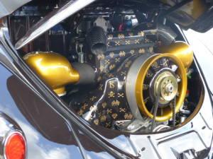 Porsche Motor im Heck