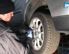 VW Lupo Räder demontieren
