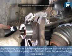 VW Lupo Neues Radlager einpressen