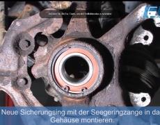 VW Lupo Sicherungsring einsetzen