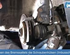 VW Lupo Bremsanlage zerlegen