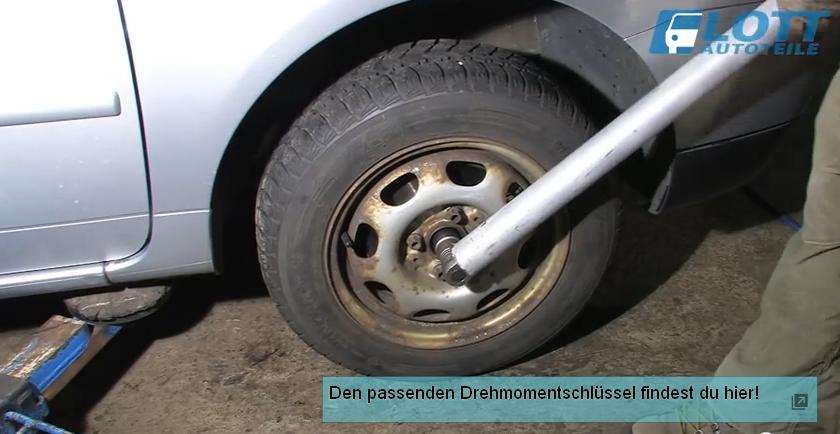 VW Lupo Sicherungsmutter mit Drehmoment anziehen