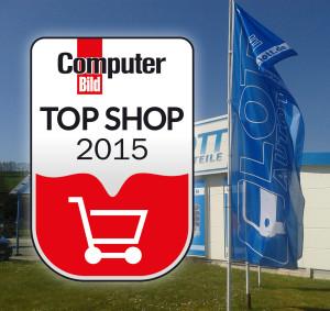 Lott Autoteile ist ComputerBild.de Top-Shop 2015