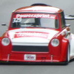 Trabi go on the track