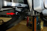 Querlenker eingebaut Nissan Micra K12