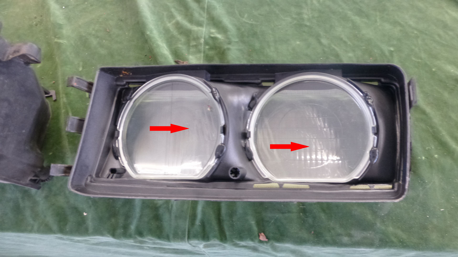 bmw e36 scheinwerfer wechseln und berholen. Black Bedroom Furniture Sets. Home Design Ideas